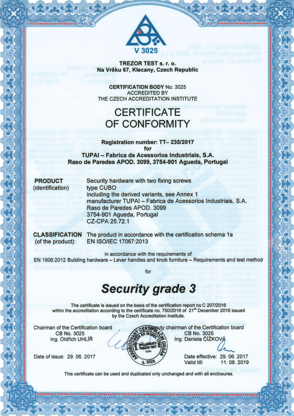 certificate-conformity-resistance-class-3