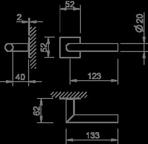 2002-mq-2mm – Desenho técnico